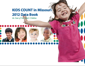 KidsCount 2012 Data Book Cover