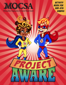 Project Aware Activity Book cover