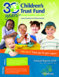 CTF Annual Report FY14