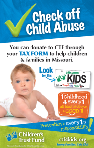 Tax Checkoff 2016 flier