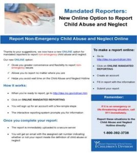 Abuse & Neglect Reporting Tool