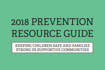 2018 Prevention Resource Guide