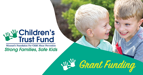 Missouri Children's Trust Fund Awards Nearly $815,000 in New Child Abuse Prevention Grants
